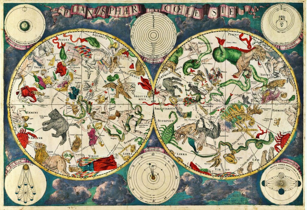 Star Power Celestial Ceilings And Zodiac Symbols In New York