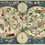 17th Century celestial by Dutch cartographer Frederik de Wit