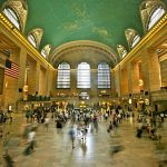 3a. Grand Central Station, NYC. Ceiling w/zodiac symbols. Photo: Alex Proimos from Sydney, Australia