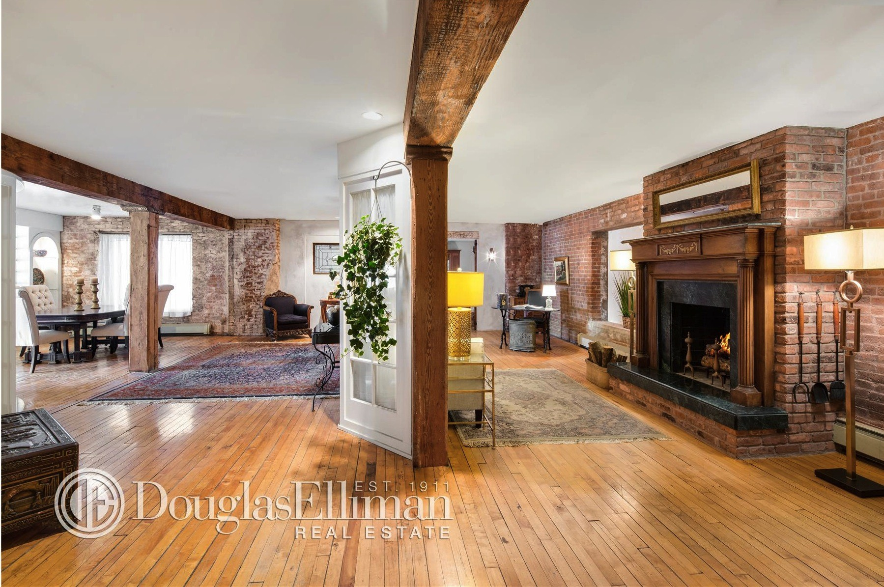 288 west street, tribeca, loft, condo, living room
