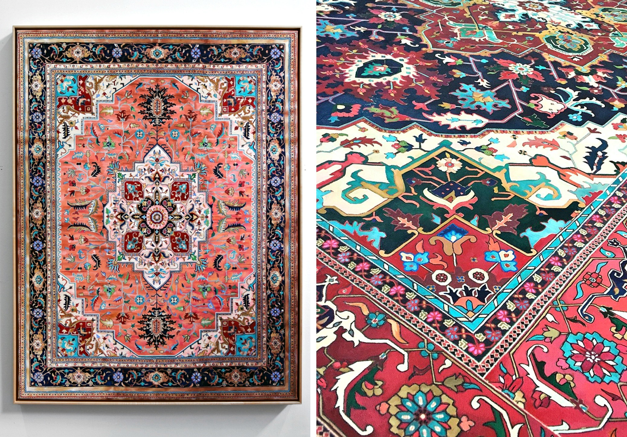 These 39 Persian Rugs 39 Are Actually Drawings Will Nyc 39 S Tv
