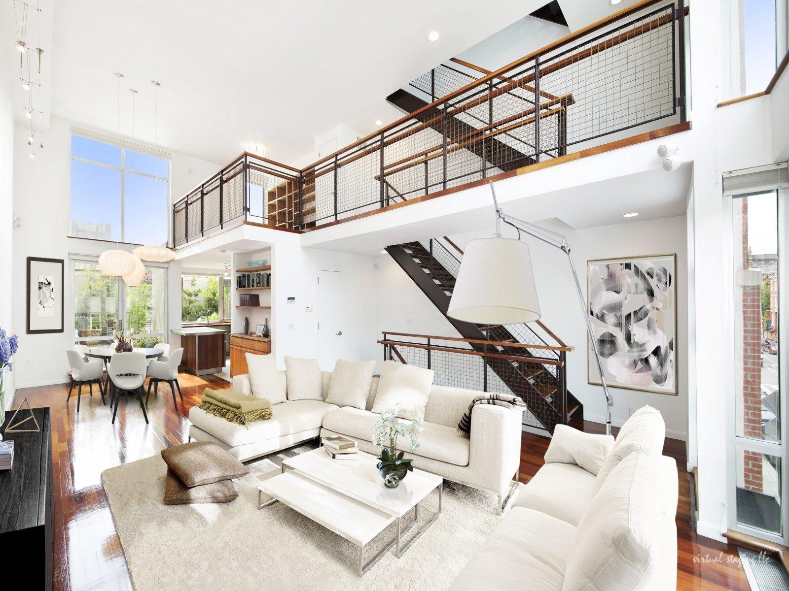 This modern $4.5M townhouse by the Williamsburg waterfront has an ...