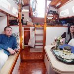 nyc houseboat couple, vicortia fine, jon vidar