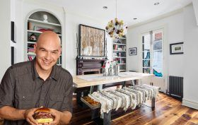 58 Downing Street, Michael Symon, West Village celebrities, West Village townhouse