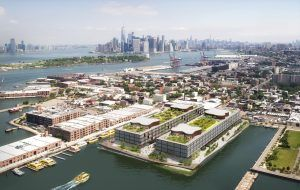 Red Hoek Point, Norman Foster, Red Hook waterfront, Red Hook development, Thor Equities