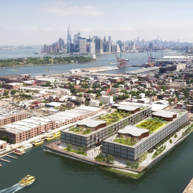 Plans for Norman Foster's Red Hook office complex may be kaput