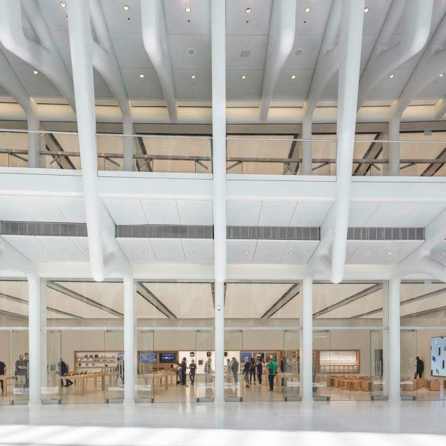 Inside the WTC Oculus' Apple store; Indian fashion designer Sabyasachi Mukherjee's new Pottery Barn collection