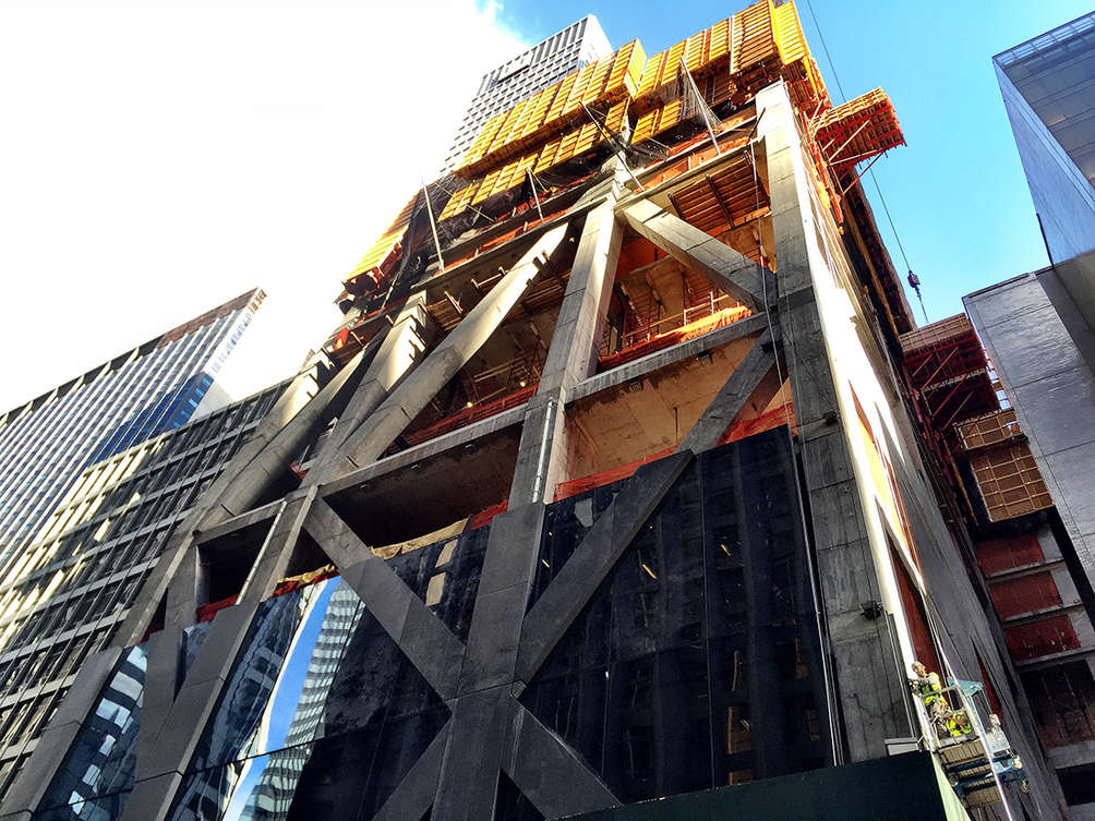 jean nouvel 39 s moma tower is getting the first of its intricate diagrid skin 6sqft. Black Bedroom Furniture Sets. Home Design Ideas