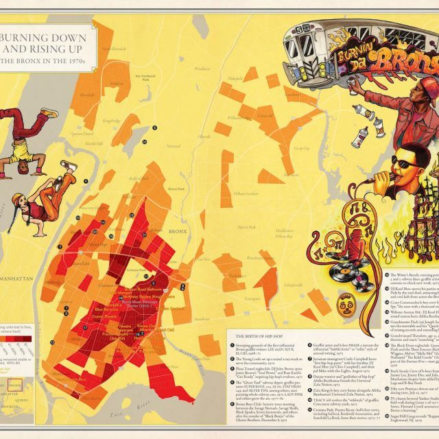 The arty maps of 'Nonstop Metropolis' show NYC the way locals experience it