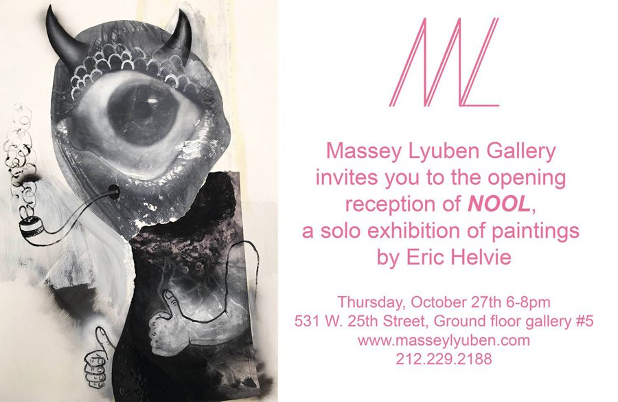 Massey Lyuben Gallery, 531 W. 25th Street, Ground Floor Gallery 5.  Thursday, October 27, 6:00 8:00pm. Eric Helvieu0027s Modern Surrealism Combines  ...