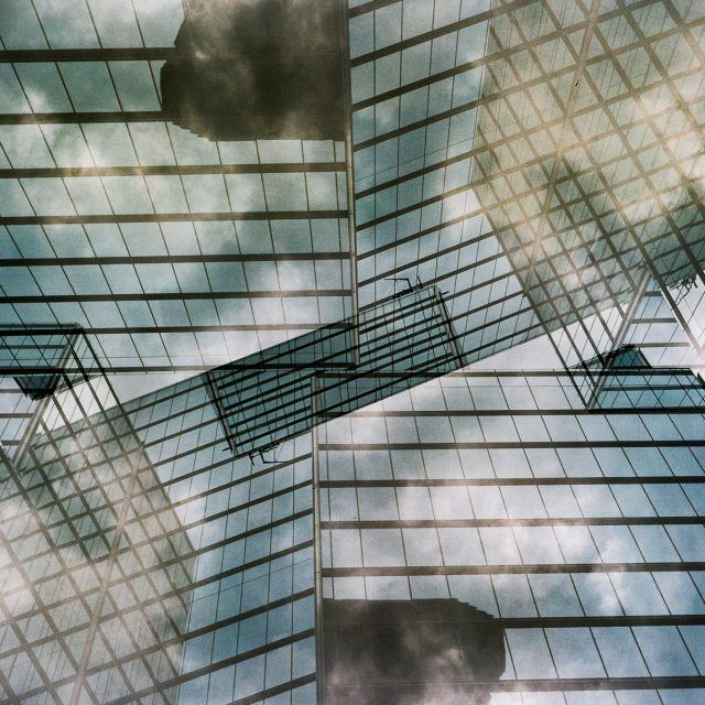 The Urban Lens: Trel Brock uses double exposure to transform the cityscape into a Rorschach test