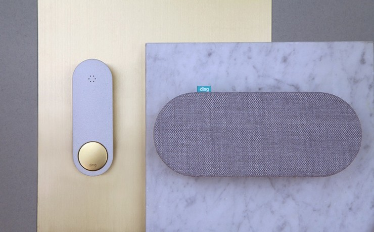 ding, smart home accessories, smartphone doorbell