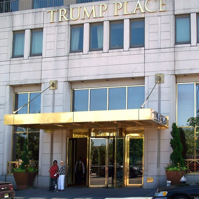 Board shoots down residents' petition to rename Trump Place