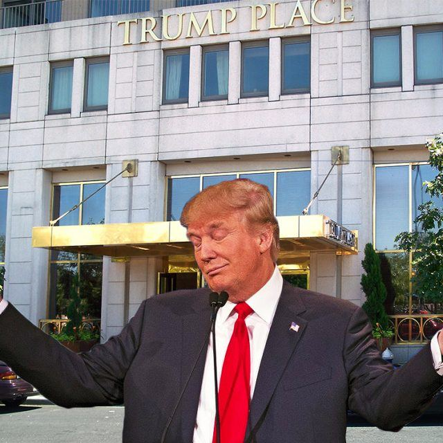 As the election nears, sales at Trump buildings decline