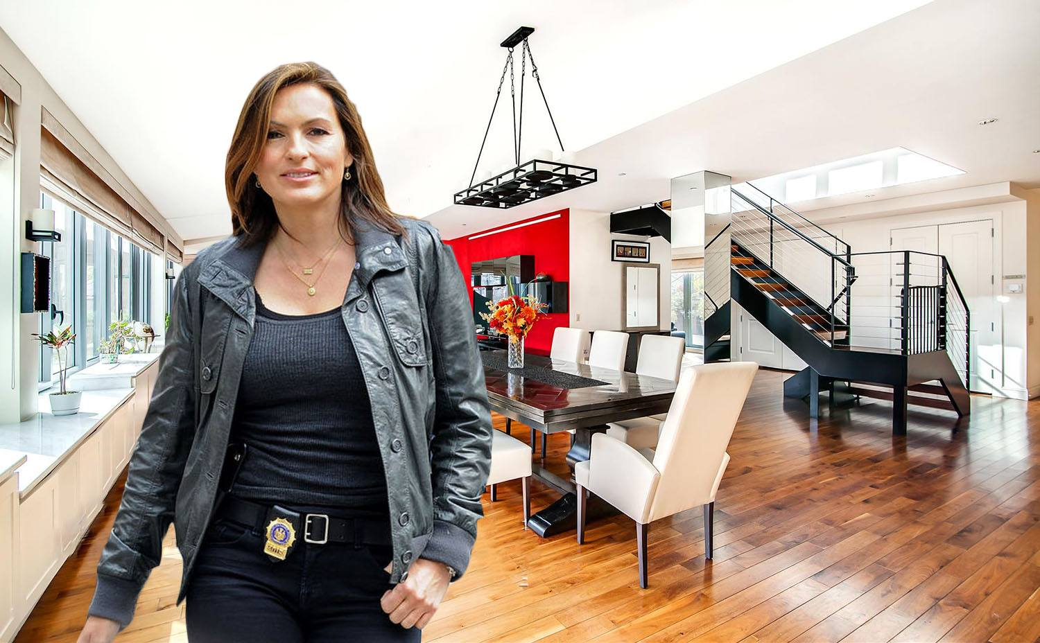 Back to post mariska hargitay at law and order set in ny - For 14m Own The Former Chelsea Penthouse Of Law Order Svu Star Mariska Hargitay