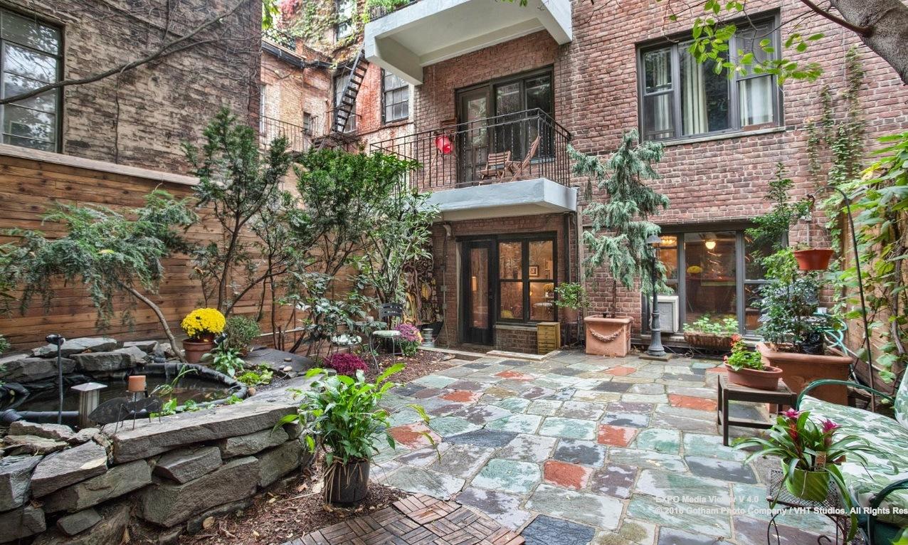 Backyard Apartment $1.56m soho apartment boasts an envy-inducing backyard | 6sqft