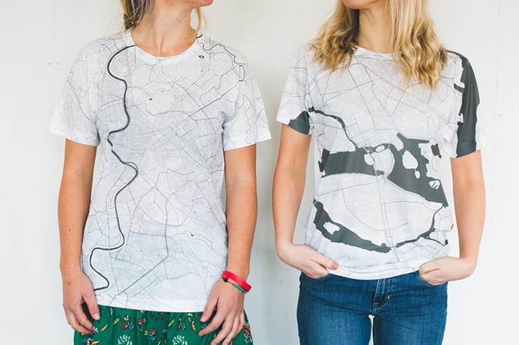 Alex Szabo-Haslam, city map t-shirt, Citee