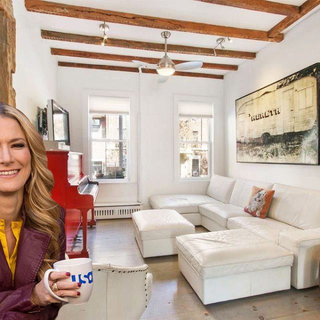 'Talk Stoop' host Cat Greenleaf selling $3M Boerum Hill townhouse with reclaimed beams from a Catskills barn