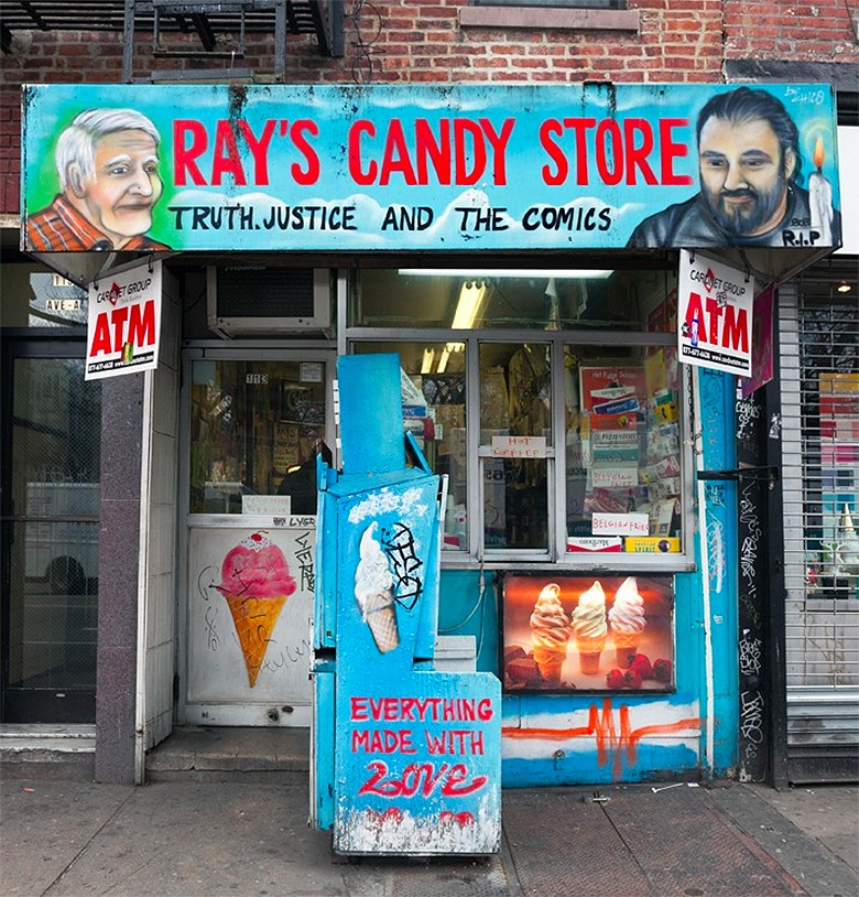 rays candy store avenue-a
