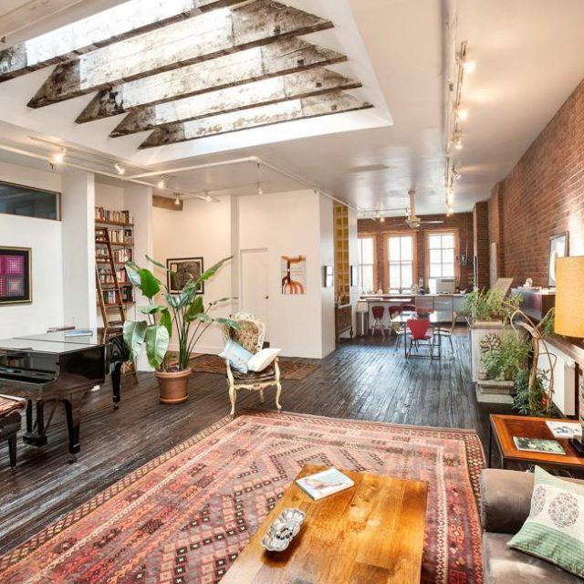 For $10K this perfect Soho loft comes with everything you need plus a few scary surprises