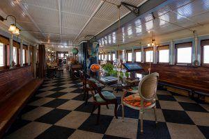 MacKenzie-Childs Yankee Ferry, Ellis Island Ferry, Frank Ruttan
