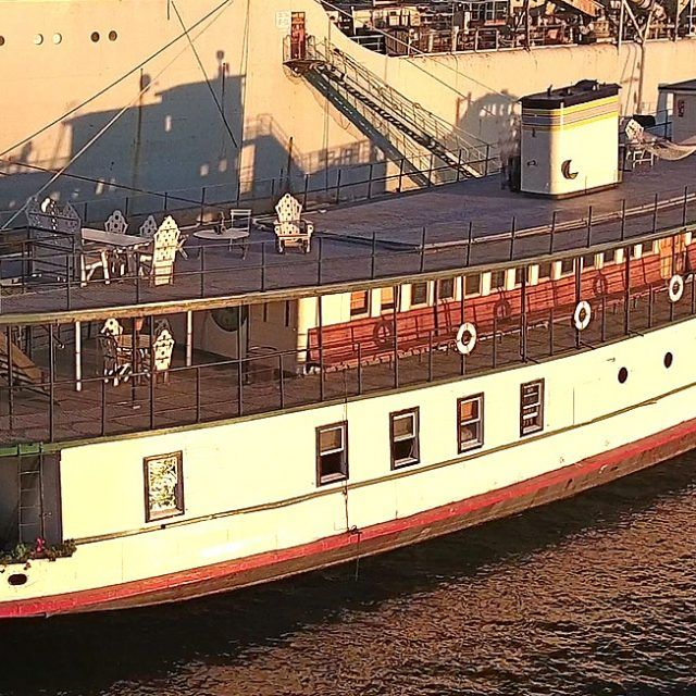 The oldest existing Ellis Island ferry could be your quirky home for $1.25M