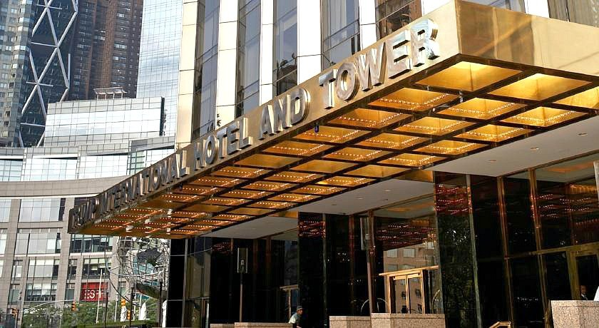 trump international hotel and tower, Donald Trump NYC, Columbus Circle, 1 Central Park West