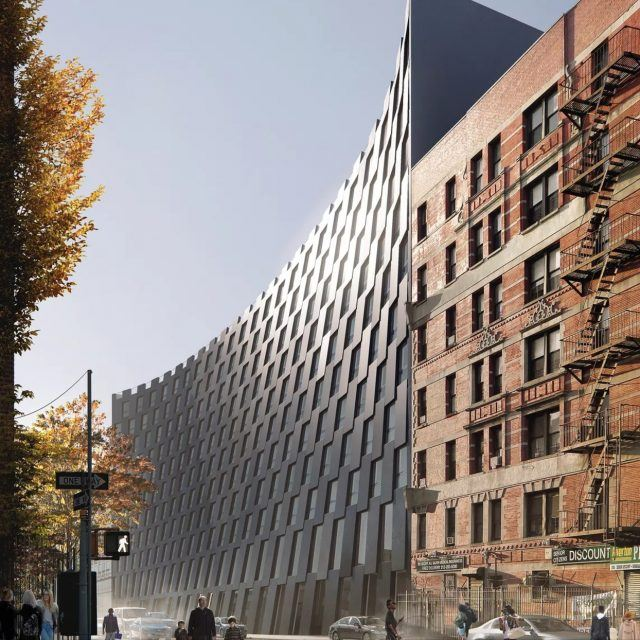 Bjarke Ingels' curving East Harlem rental breaks ground and gets new renderings