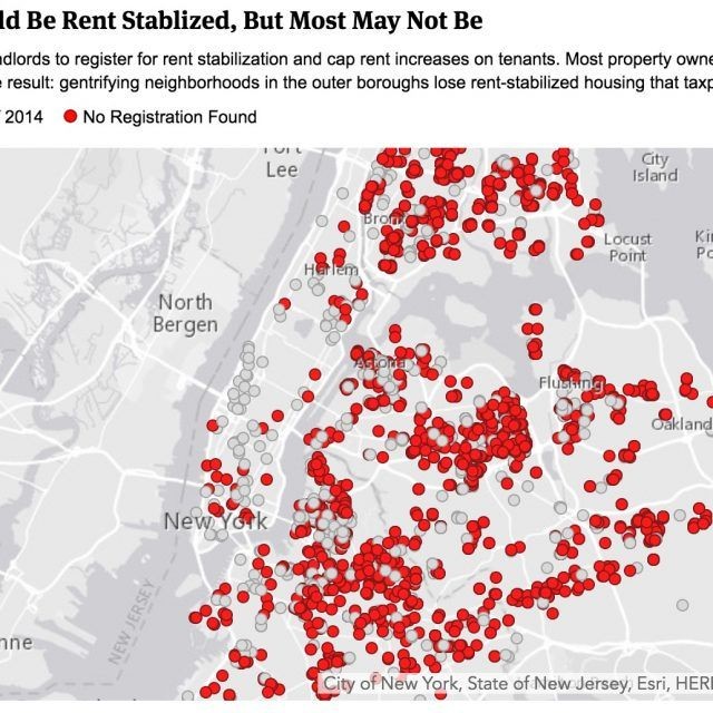 MAP: Two thirds of landlords benefiting from 421-a tax breaks didn't file rent regulation paperwork