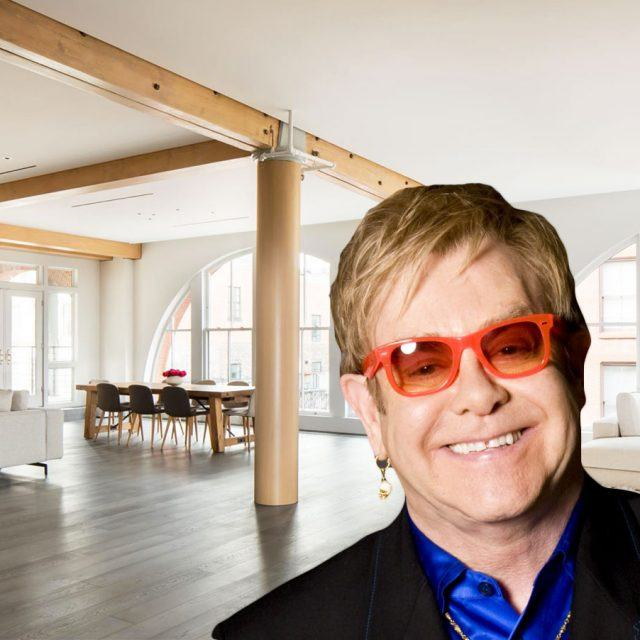 Elton John's former Soho loft, complete with hidden cat tunnel, gets a price chop to $16M