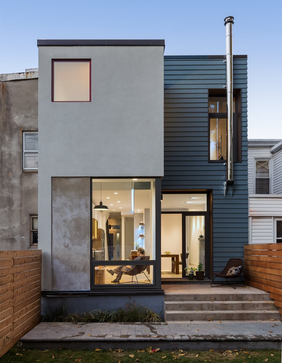 Noroof Architects, bed-stuy renovation
