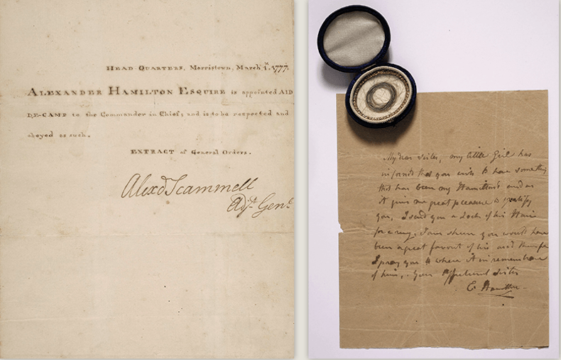 Rare collection of Alexander Hamilton s unpublished letters headed
