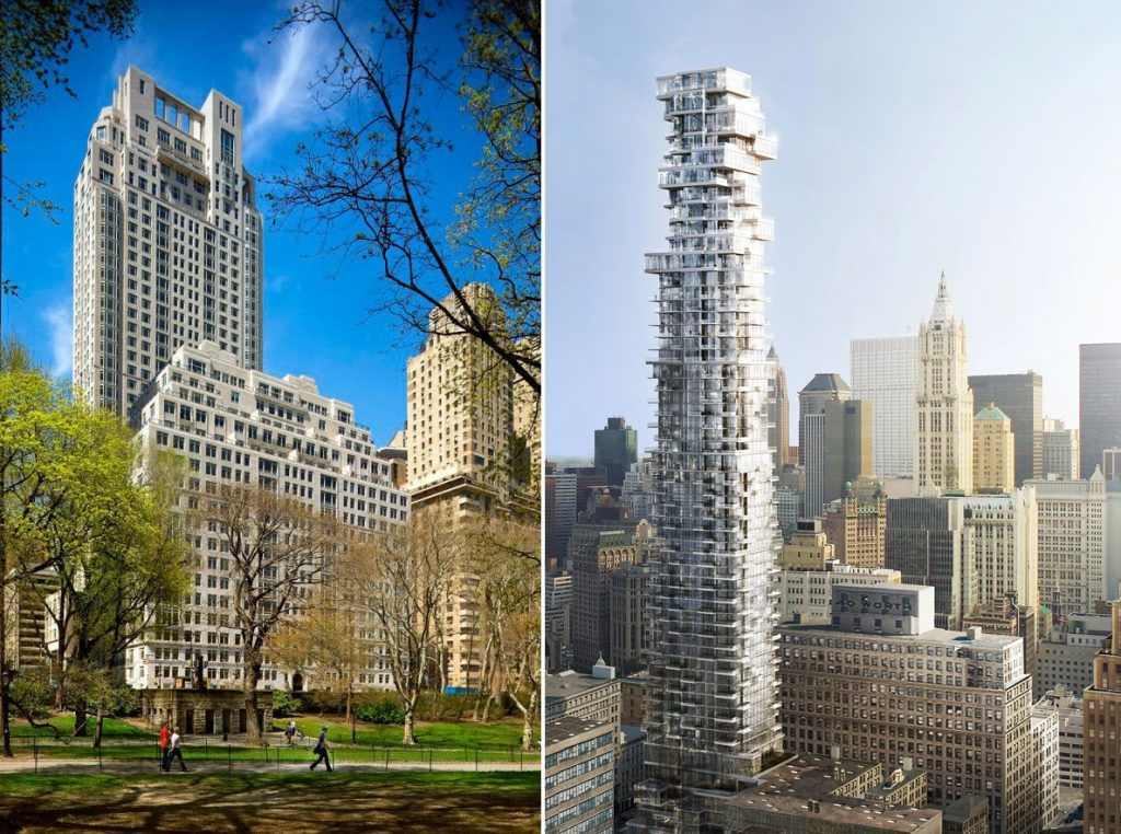 15 CPW still NYC's most expensive building; 56 Leonard ...