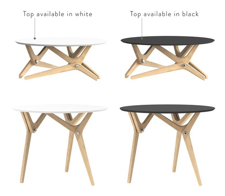 Boulon Blanc Transforms From Coffee Table To Dining Room Table Using Helicoid Mechanisms 6sqft