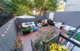239 west 135th street, condo, douglas elliman, backyard