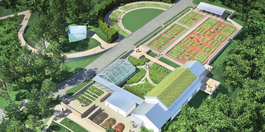 New York Botanical Garden breaks ground on new $28M \'Edible Academy ...
