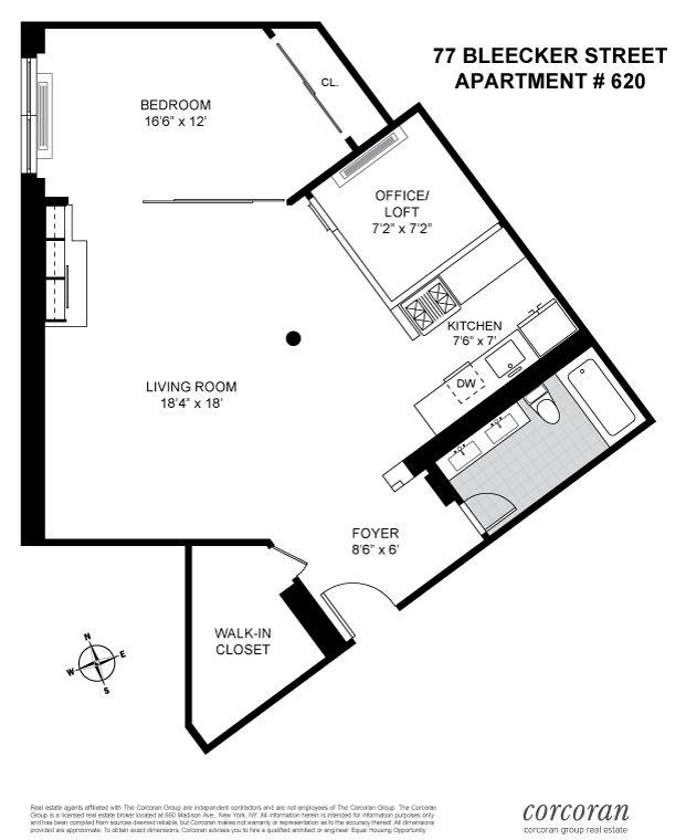 77 bleecker street, bleecker court, mancini architects