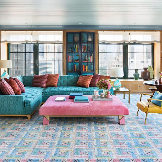 Steven Gambrel turned a Park Avenue apartment into a sophisticated playground for pastel colors
