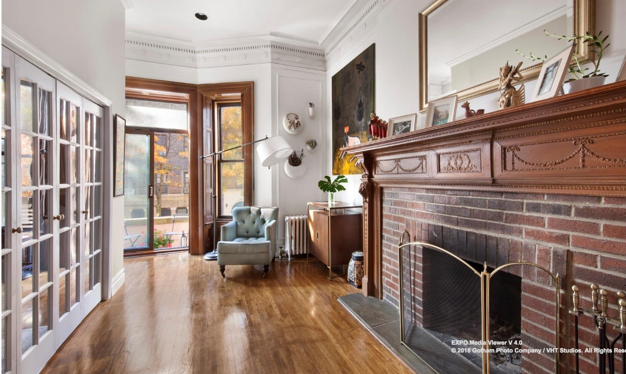 $650K co-op with a grand fireplace and Moroccan tiles graces the ...