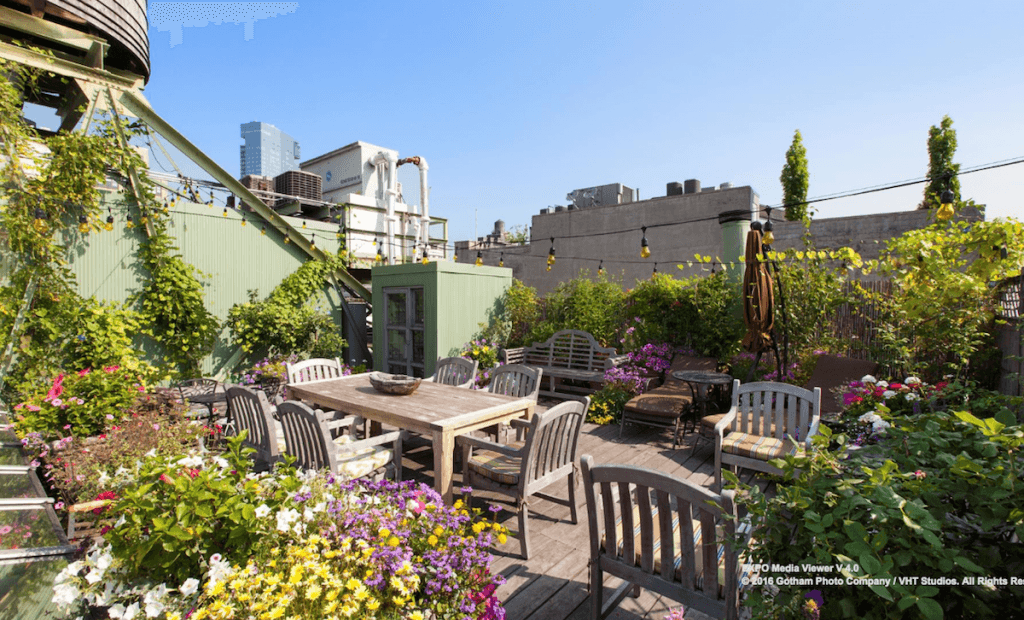 With Massive Skylights And A Private Rooftop Garden This
