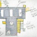 Steven Holl, wooden art gallery, T Space, Dutchess County, cedar facade, woodland art gallery, wooden cabin,