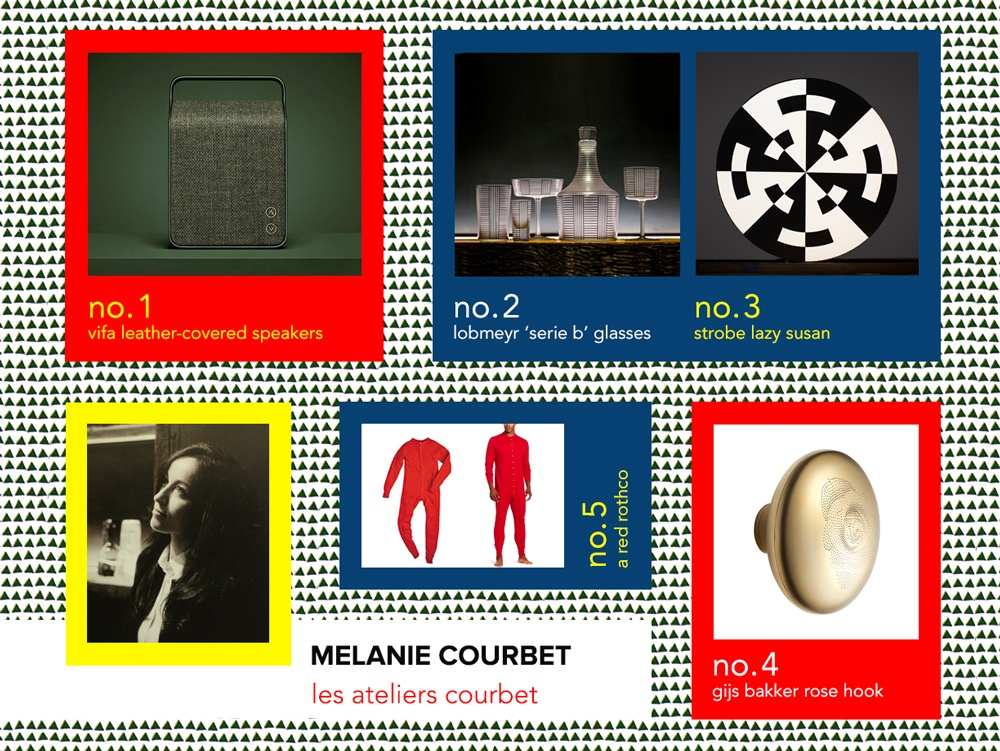 6sqft designer gif guide, Melanie Courbet, Founder of Les Ateliers Courbet