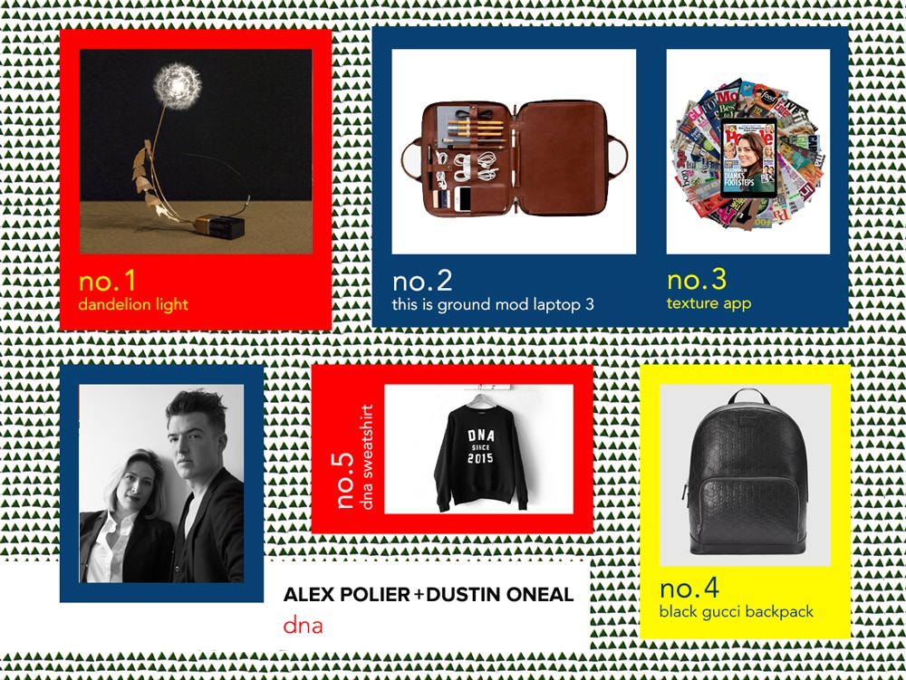 6sqft designer gift guide, DNA nyc PR