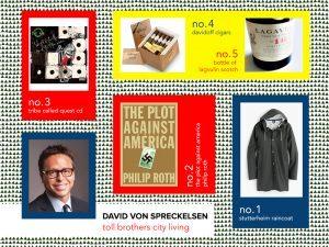 6sqft designer gift guide, David Von Spreckelsen