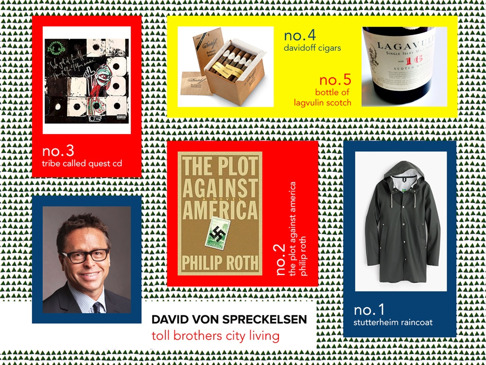 6sqft designer gift guide, David Von Spreckelsen