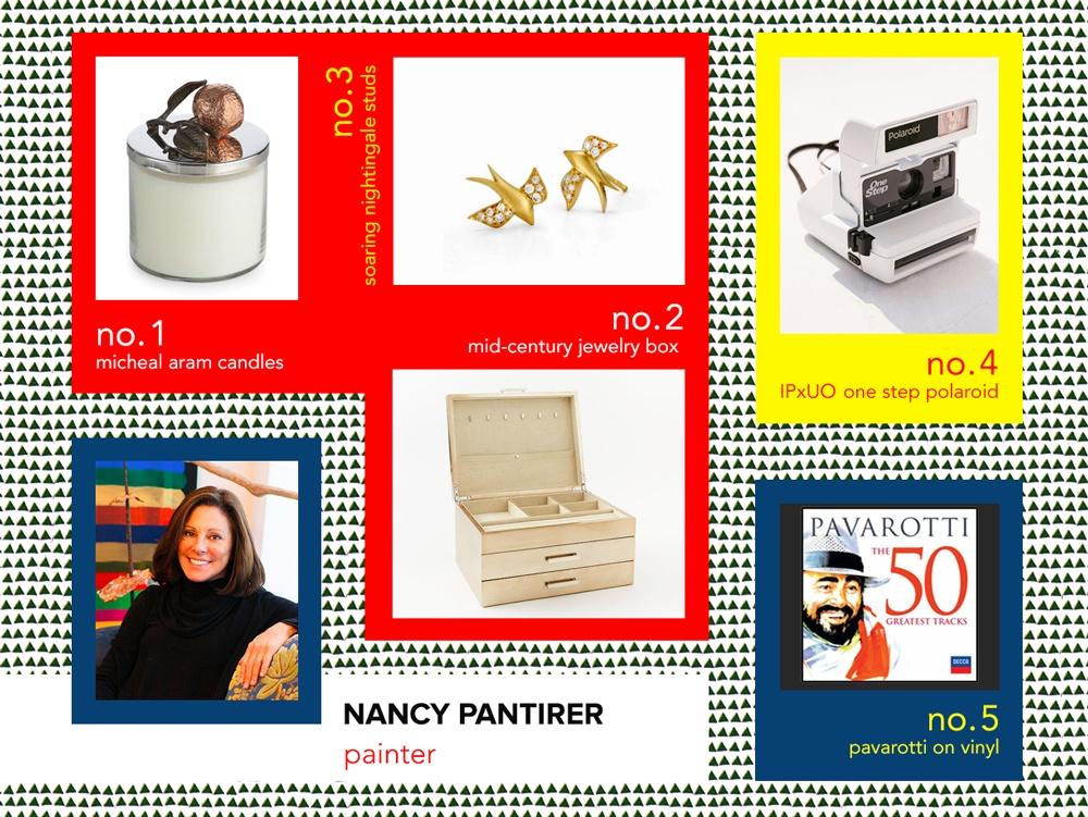 6sqft designer gift guide, Nancy Pantirer