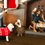 Hipster Nativity, Modern Nativity, Nativity Set, Casey Wright, Holiday, Christmas
