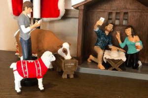 Hipster Nativity, Modern Nativity, Nativity Set, Casey Wright, Holiday, Christmas