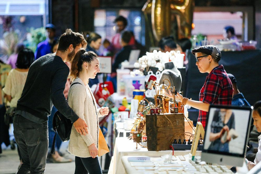 holiday gift market, pop-up shop, holiday, xmas, shopping, Flea, Brooklyn Flea, 1000 Dean, Berg'n, Smorgasburg