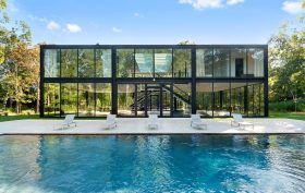 Jeff Smilow, 145 Neck Path, East Hampton real estate, glass house